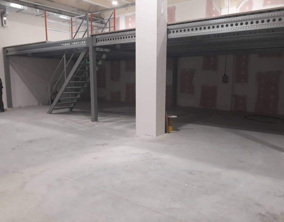 mezzanine floor SSS04